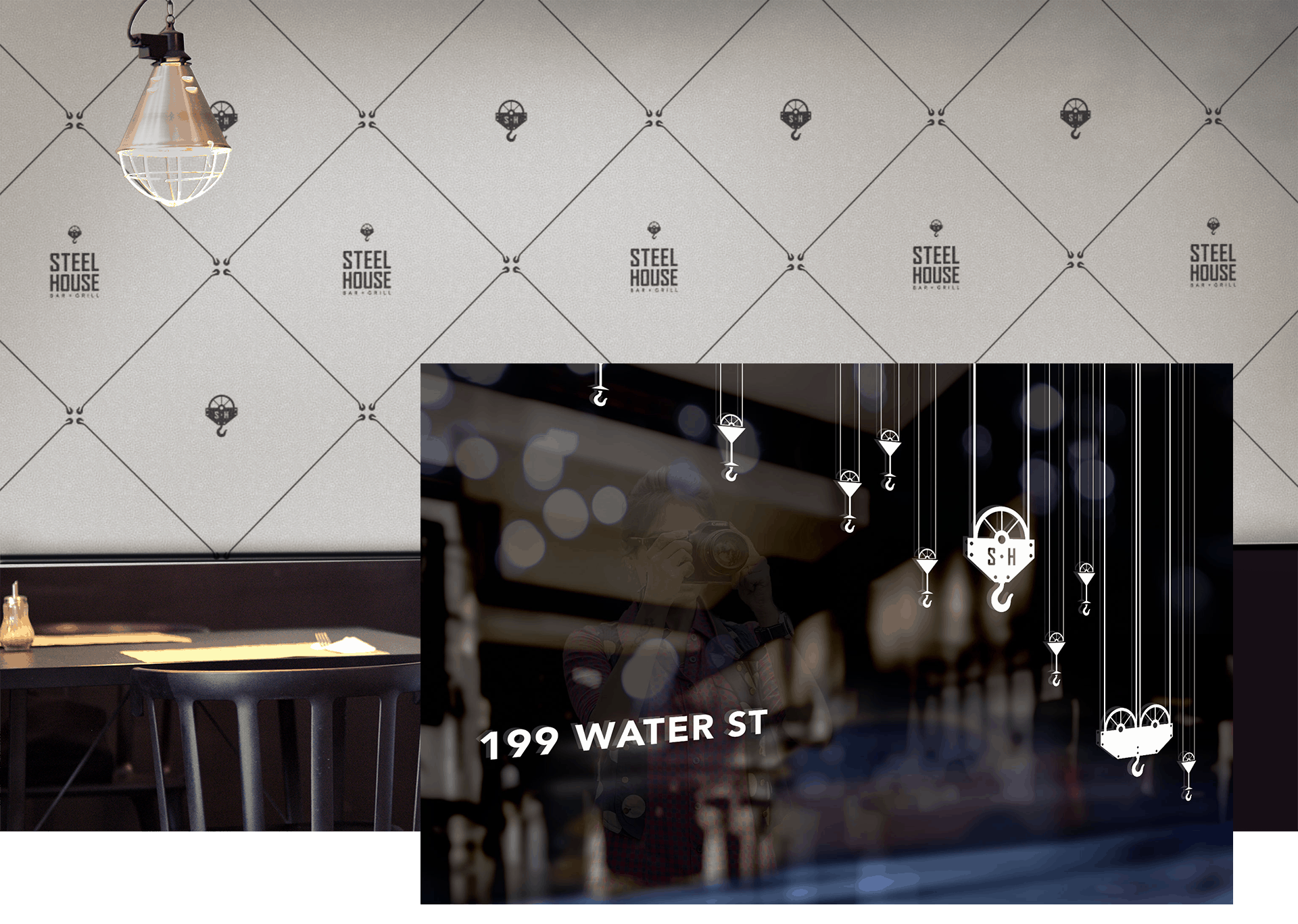 Restaurant-Wall-graphic-design