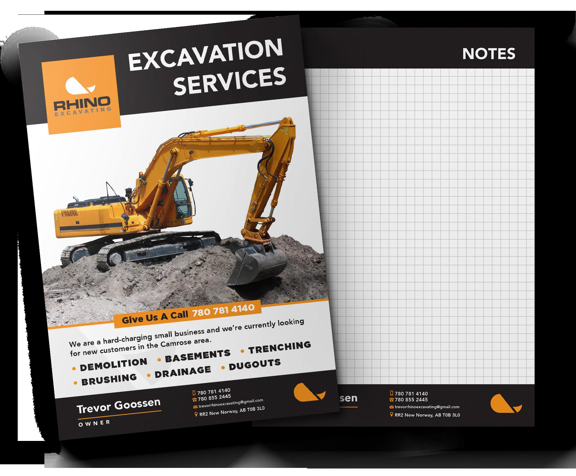 Rhino-Excavating-Brochure