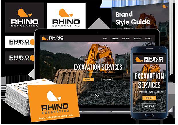 Logo - Business Cards - Website Package