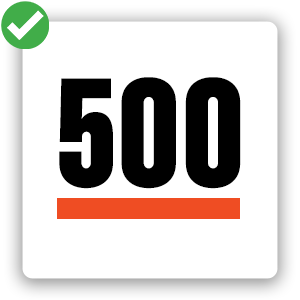 500 Cards - Square Icon