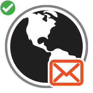 Business Email - Square Icon