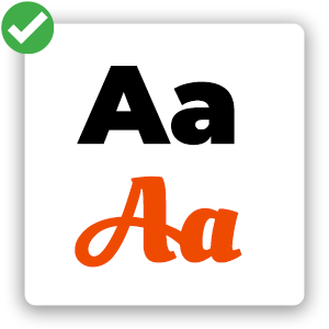 Fonts - Square Icon