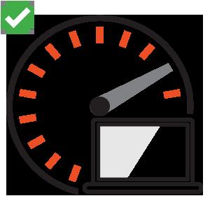 Loading Speed - Square Icon