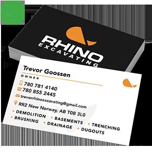 Rhino - Business cards - Square Icon 3