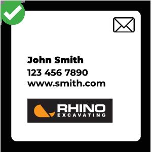 Rhino - Email Sig - Square Icon