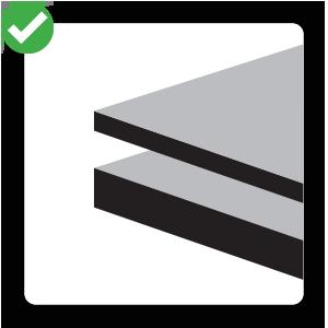 Super Thick - Square Icon